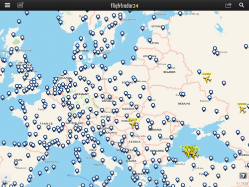 SQ Europe Flights